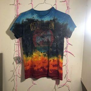 Led Zeppelin tie dye t-shirt!